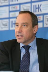 Christian Neuweiler Praesident IHK Thurgau an der PK Aufhebung der Kursuntergrenze zum Euro am Donnerstag 22. Januar 2015 (FOTO GACCIOLI KREUZLINGEN)